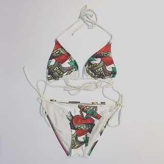 Bikini top and bottom
