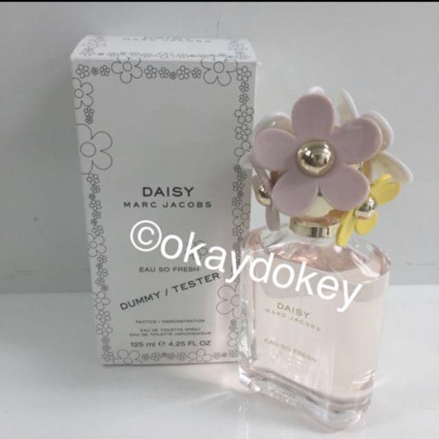 125ml Marc Jacobs Daisy Eau So Fresh Edt Perfume Tester For Women
