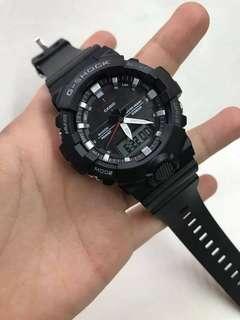 GA-800 BLACK GSHOCK WATCH