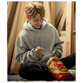 【Korea Buying Service 4/20-29】MXM Donghyun Black Hoody Original Line Logo Temptation Hoodie