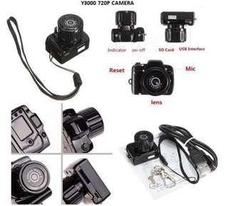 Y3000 720P Camera