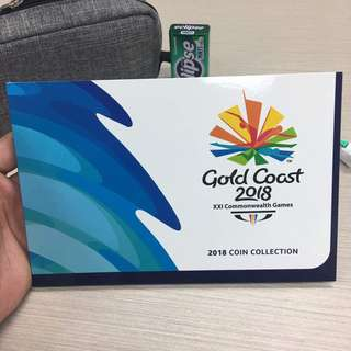 Australia Commonwealth Games 2018 Commemorative Coin Collection Set
