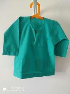 Size 1 Baju Melayu Baby Hijau Petronas