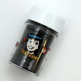 MAC veronica pigment colour powder black poodle