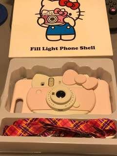 Iphone 7plus Hello Kitty 手機殼 (全新, 唔岩用, 但開個盒整皺左少少)