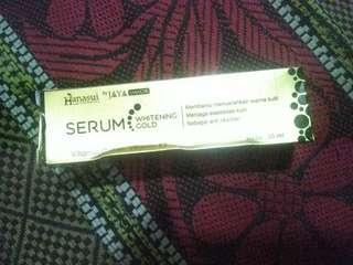 Hanasui serum whitening gold