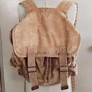 Ecote canvas rucksack bag