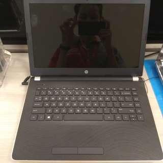 Laptop HP14-BS129TX.I5 Core i5/VGA Radeon.Bisa dicicil Tanpa kartu kredit Promo GRATIS 1X CICILAN!