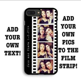 #75 Film strip customizable phone cover