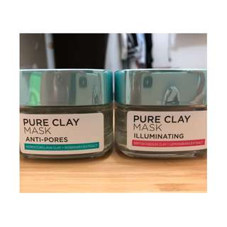 Loreal Paris Pure Clay Mask (1 Paket)