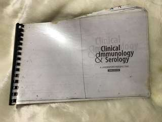 CLINICAL & IMMUNOLOGY SEROLOGY 3rd Edition