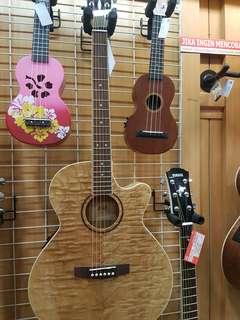 Dijual Credit Cukup Bayar 199 Cort Guitar E/Acoustic