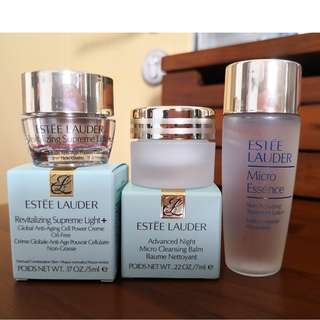 Estee Lauder travel size skin care from $7