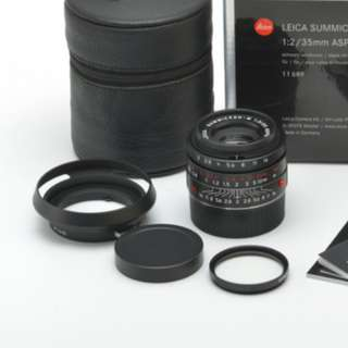 Leica 35 mm f2 black chrome new old stock