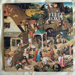 Fleet Foxes Vinyl Record