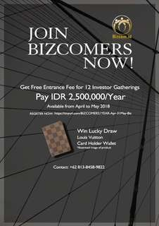 TO BE BIZCOMERS NOW