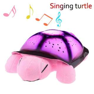 Turtle Night Sky Constellations with Music