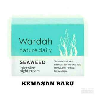 Wardah Seaweed Intensive Night Cream
