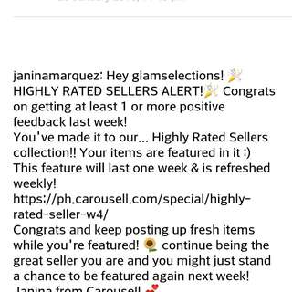 Highly Rated Seller!!❤