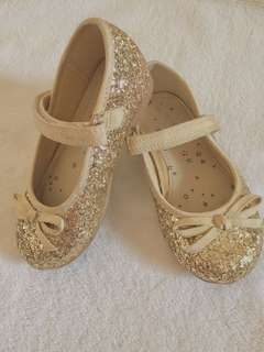 NEXT Gold flat shoes (for kids)