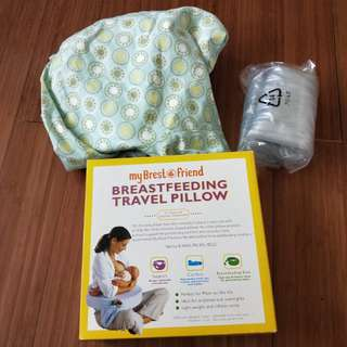 New Mybrestfriend breastfeeding travel nursing pillow