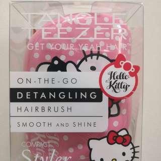 Authentic Sanrio Hello Kitty Tangle Teezer Hair Brush