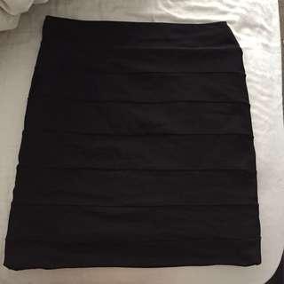 Kookai black skirt