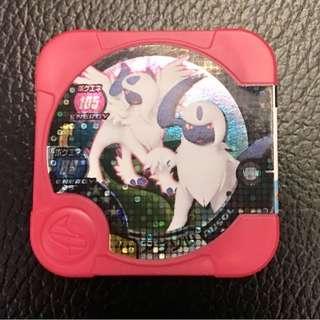 Pokemon Tretta 3星 Absol 可以mega!