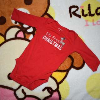 Carter's My First Christmas Onesie