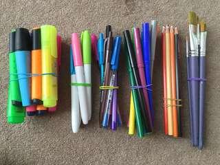Assorted stationary bundles