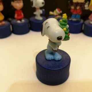 Original Pepsi Charlie Brown Snoopy & Friends Christmas Tree Bottle Top Cap