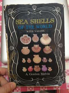 Book: sea shells of the world with values by A. Gordon Melvin