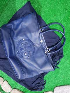 Authentic Tory Burch tote bag (blue)