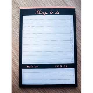 To Do List/Task List