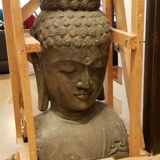 Buddha Head Statue (Beautifully hand crafted)