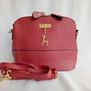 Repriced Korean Red Bag