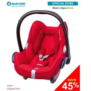 [BRAND NEW SET with 1 year local warranty]  Maxi Cosi Cabriofix infant car seat
