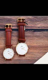 Daniel Wellington leather strap. Under retail!