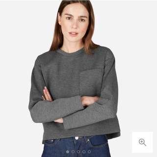 Everlane Street Fleece Pocket Pullover XS (Size 6/8)