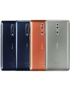 Nokia 8 Ready Cicilan Ringan Proses 3 menit Tanpa Kartu Kredit