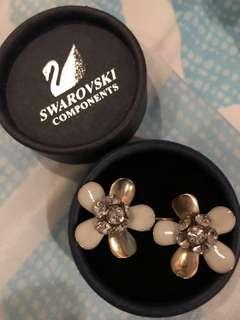 REPRICED Swarovski Dangling Earrings