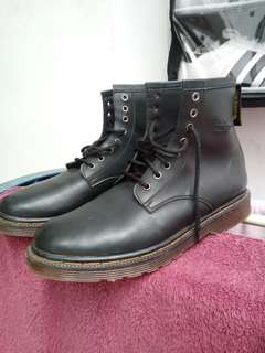 Dr.Martens High Black List Yellow