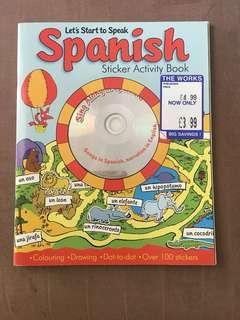 Spanish Sticker Activity Book