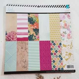 Heidi Swapp Scrapbook Paper