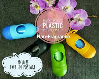PORTABLE PLASTIC DISPENSER