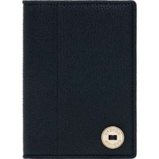New Oroton Melanie Pebble Passport Holder in Black RRP $145.00