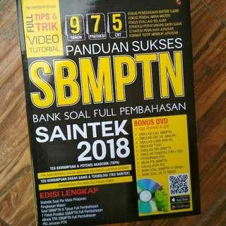 PANDUAN SUKSES SBMPTN saintek 2018 +DVD