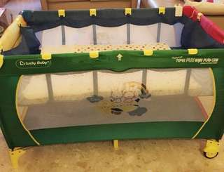 Lucky baby adjustable height play pen