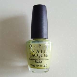 OPI Sit Under The Apple Tree NLD21