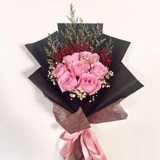 Soap Rose Flower Bouquet